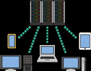 クラウドサービスイメージ図